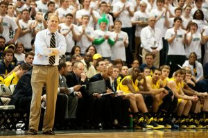 John Beilein looks to regroup after last Tuesday embarrassment in East Lansing, (pic courtesy of AnnArbor.com)